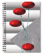 Ups N Downs Spiral Notebook