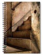 Uptown Stairs Spiral Notebook