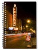 Uptown Street Scene Spiral Notebook