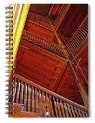 Upward Vertigo Spiral Notebook