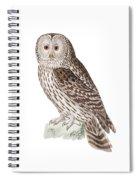 Ural Owl Spiral Notebook