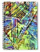 Urban Abstract 115 Spiral Notebook