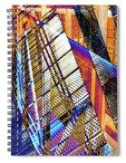Urban Abstract 157 Spiral Notebook