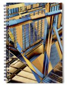 Urban Abstract 179 Spiral Notebook