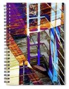 Urban Abstract 224 Spiral Notebook