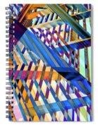 Urban Abstract 258 Spiral Notebook