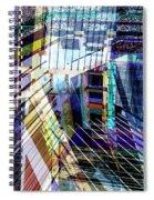 Urban Abstract 304 Spiral Notebook