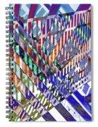 Urban Abstract 352 Spiral Notebook