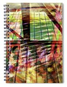 Urban Abstract 369 Spiral Notebook