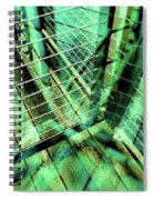 Urban Abstract 405 Spiral Notebook