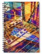 Urban Abstract 423 Spiral Notebook