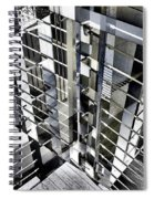 Urban Abstract 94 Spiral Notebook
