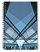 Urban Abstract Vi Spiral Notebook