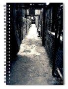 Urban Alley Spiral Notebook