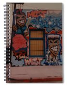 Urban Art Spiral Notebook