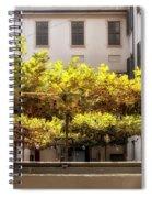 Urban Bower. Milan, Italy. Spiral Notebook