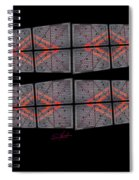 Urban Break-up Spiral Notebook