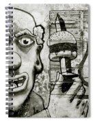 Urban Clown Spiral Notebook