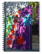 Urban Color - Afternoon Shadows Spiral Notebook