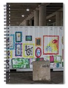 Urban Container Art I I I Spiral Notebook