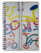 Urban Container Art I I Spiral Notebook