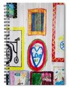 Urban Container Art V Spiral Notebook