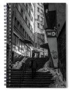 Urban Darkness Spiral Notebook