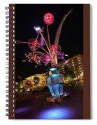 Urban Flower Spiral Notebook