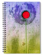 Urban Flower Spiral Notebook