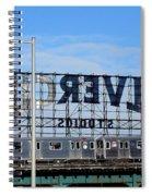 Urban Landscape Long Island City Spiral Notebook