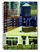 Urban Layers Spiral Notebook