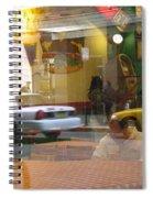 Urban Maze Spiral Notebook