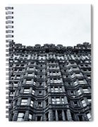 Urban Mountain Spiral Notebook