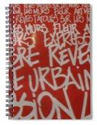 Urban Paris Spiral Notebook