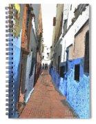 Urban Scene  Spiral Notebook