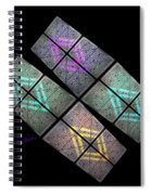 Urban Space Station Spiral Notebook