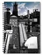 Urban Stockholm Spiral Notebook