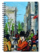 Urban Story - Champs Elysees Spiral Notebook