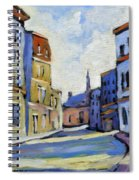 Urban Streets Spiral Notebook