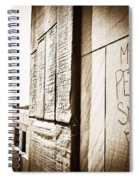 Urban Streets  Spiral Notebook