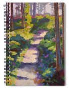 Urban Trail Climb Spiral Notebook