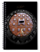 Urban Voice Button Spiral Notebook