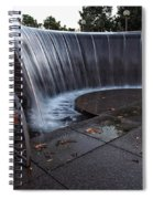 Urban Waterfall  Spiral Notebook