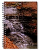 Urban Waterfall Spiral Notebook