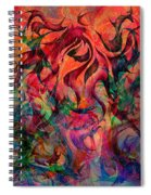 Urn Of The Fire Spiral Notebook