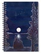 Ursa Minor Spiral Notebook