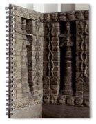 Uruk: Innin Temple Facade Spiral Notebook