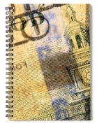Us 100 Dollar Bill Security Features, 6 Spiral Notebook