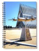 Us Air Force Academy Chapel Spiral Notebook