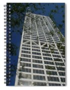 Us Bank With Trees Spiral Notebook